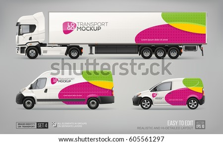 Vehicle Graphics Stock Images RoyaltyFree Images Vectors - Truck decal graphicstruck and vehicle decal graphic design stock vector image