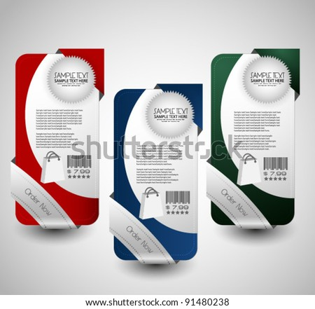 hi quality web sale banner collection - stock vector