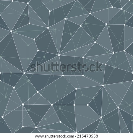 hi-tech seamless pattern - stock vector