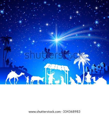 Christmas Nativity Vector Art | Getty Images