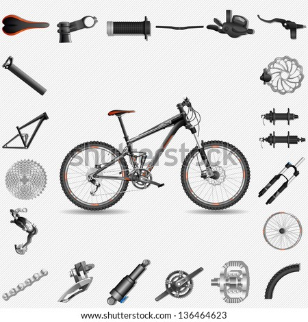 Bike Parts Stock Images, Royalty-Free Images & Vectors | Shutterstock