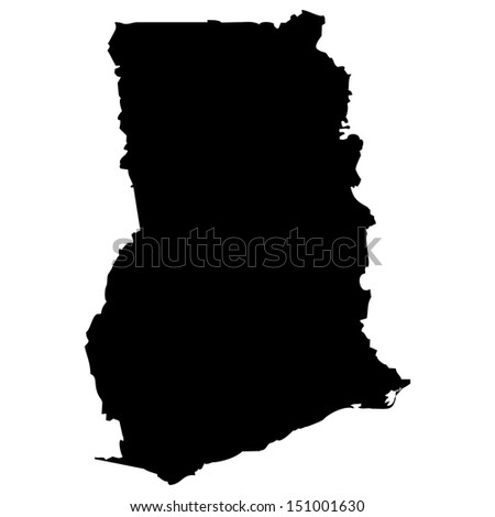 Ghana Map Stock Images RoyaltyFree Images Vectors Shutterstock - Ghana map