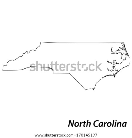 north carolina outline stock images, royalty-free images & vectors