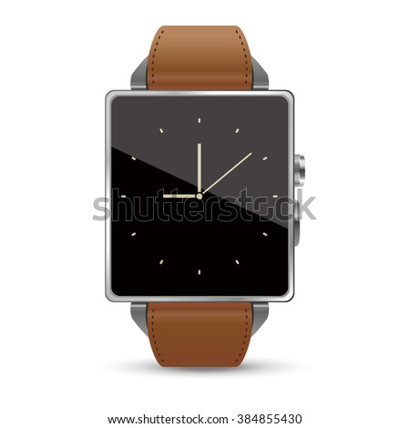 High grade Smart watch illustration on white background - stock vector