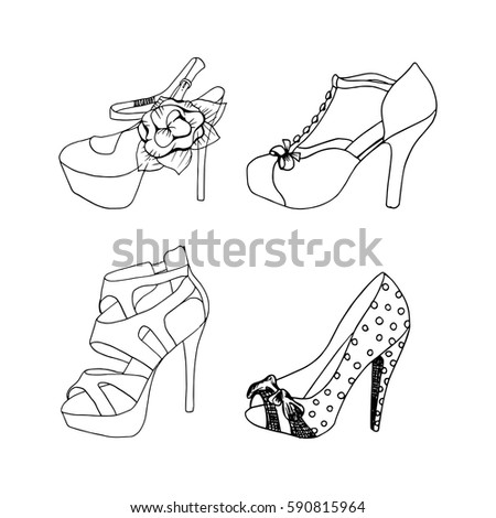 how to draw anime feet and shoes