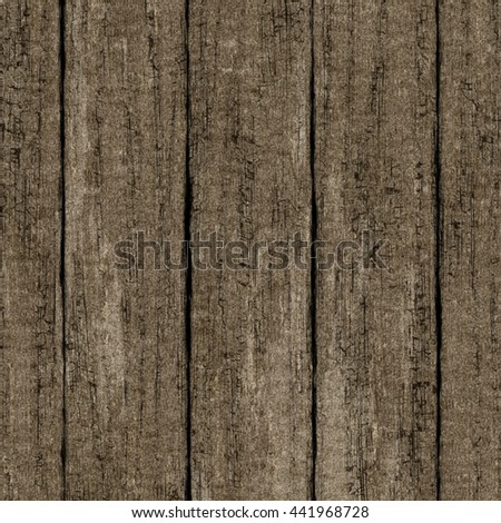 High quality high resolution seamless wood texture. Dark hardwood part of parquet. Wooden striped fiber textured background. Old timber panel. Close up brown grainy surface plywood floor or furniture. - stock vector
