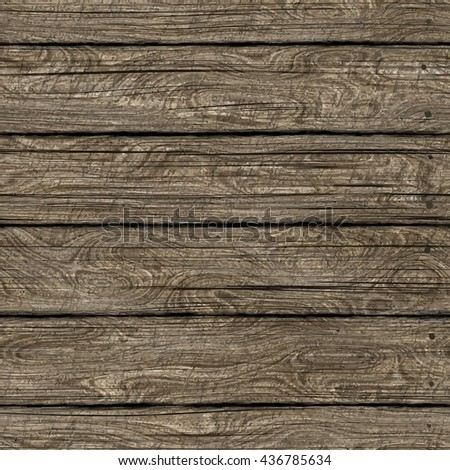 High quality Vector seamless wood texture. Dark hardwood part of parquet. Wooden striped fiber textured background. Old timber panel. Close up brown grainy surface plywood floor or furniture. ESP - stock vector