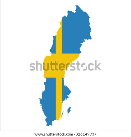 Map Of Sweden Stock Images RoyaltyFree Images Vectors - Sweden map of country