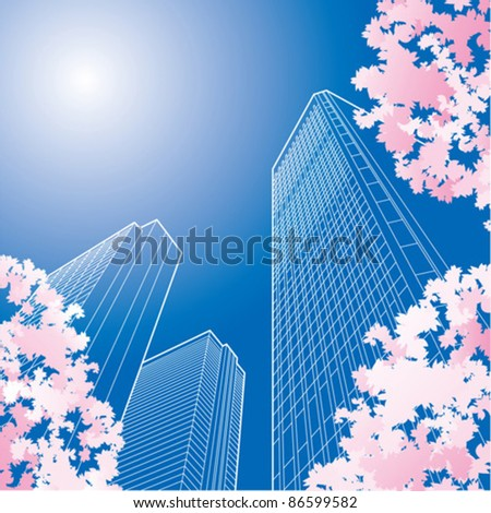 Symbolism of high rise buildings in a business.?
