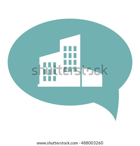 high-rise building vector