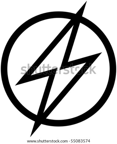 High voltage - Vector illustration - stock vector