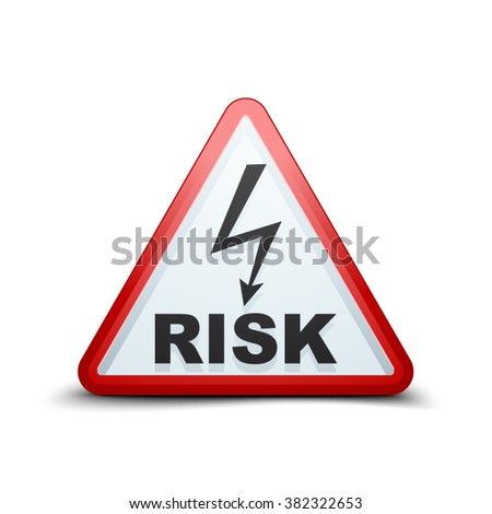 Hight Voltage Risk sign