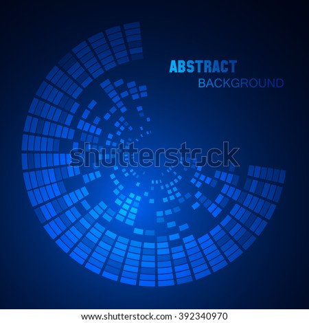 Hightech graphic user interface. Vector illustration EPS10 - stock vector