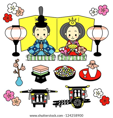 japanese doll coloring pages - hina matsuri colouring pages