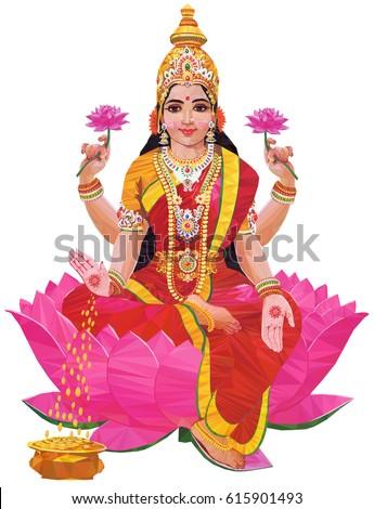 goddess lakshmi stock images royaltyfree images