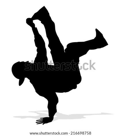 Hip hop dancer stock images royalty free images vectors hip hop dancer voltagebd Choice Image