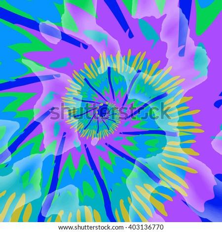Hippie style.  - stock vector