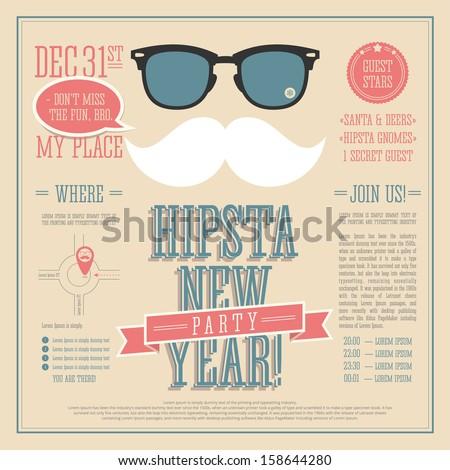 Hipster Poster Design Hipster Design For The New