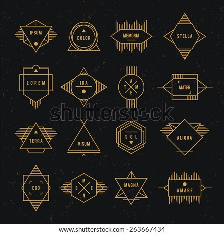 Hipster Logo Stock Images, Royalty-Free Images & Vectors ...