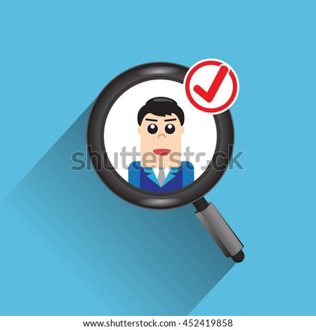 Hiring. Use a magnifying glass to see the resume.