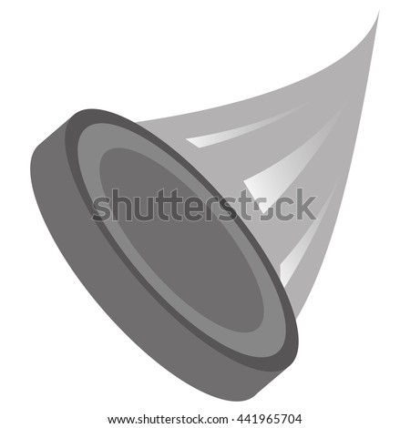 hockey puck icon - stock vector