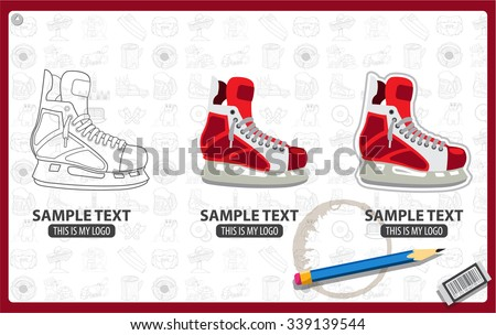 Hockey Skates Stock Images, Royalty-Free Images & Vectors ...