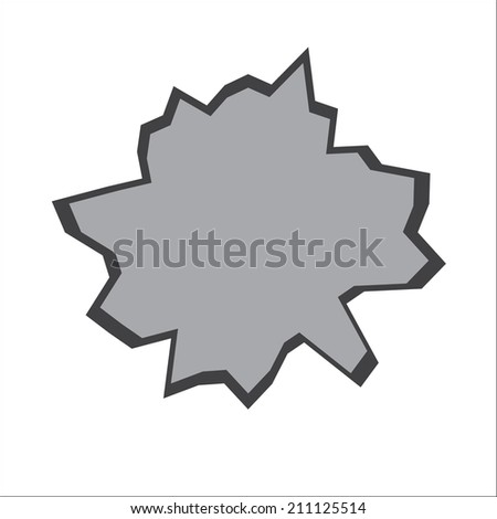 hole - stock vector
