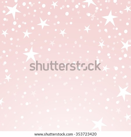 Holiday background, pattern with stars, star pattern, star decorations. EPS10 vector illustration.  - stock vector