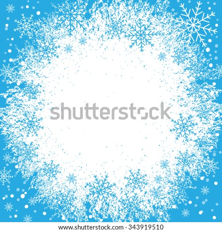 Holiday background, snowflake background, snowflake pattern, snowflake template, snowflake decorations, Christmas Decoration, EPS10 vector illustration.  - stock vector