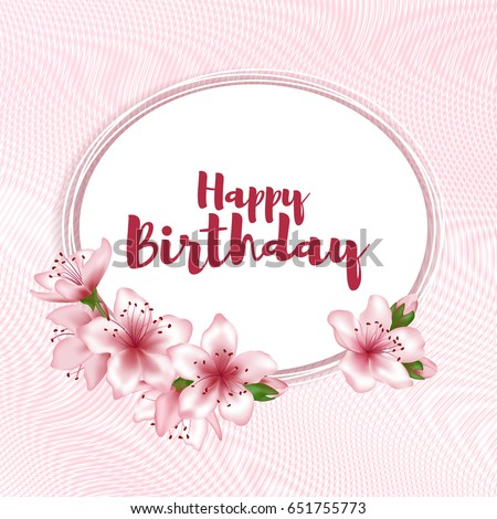 Birthday Flowers Images RoyaltyFree Images Vectors – Flower Greetings for Birthday
