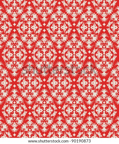 holiday wrap I: seamless pattern for Christmas or other holiday wrapping paper - stock vector