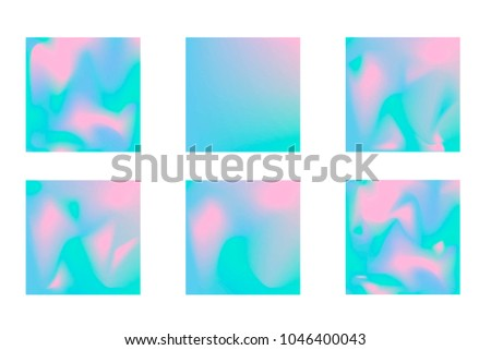 Holographic Backgrounds For Poster Wedding Invitation Wallpaper Backdrop Business Design Abstract