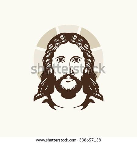 Holy Jesus Christ - stock vector