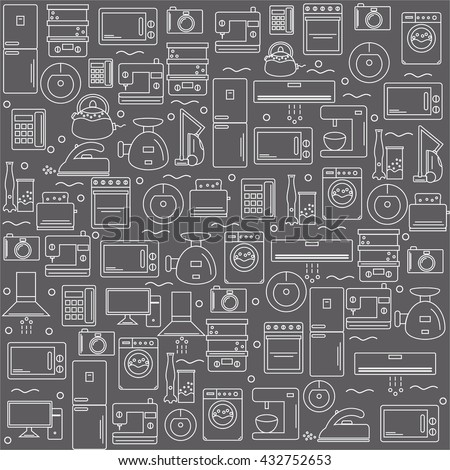 Stock Vector Mixer Bowl Vector Design Element in addition Stock Vector Oven Mitts Or Kitchen Utensils Cooking Stuff For Menu Decoration Baking Logo Emblem Or Label additionally Refrigerator Empty Vector Illustration Eps Vector Csp additionally Household Appliances Icons Line Color Background Vector Drawings Electrical White Image Colored Shadow together with Stock Vector Boiling Pot With Food On Stove Black Icon Of Hot Meal In Flat Design Culinary Theme Graphic. on stock illustration kitchen appliances vector line style icon set