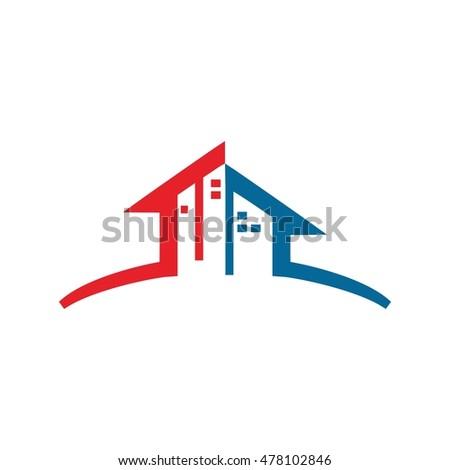 Home building apartment logo design stock vector 478102846 for Apartment logo design