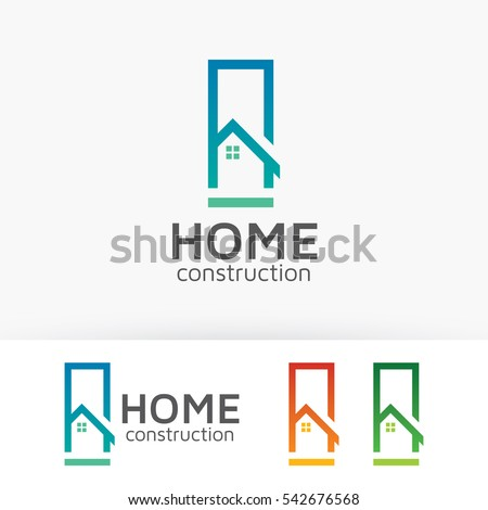 Property logo stock images royalty free images vectors for Modern house logo
