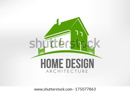 Home Design Vector Illustration