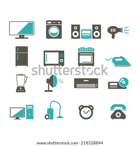 Home Device icon - stock vector