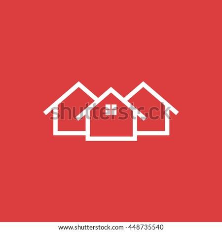 Home icon.  - stock vector