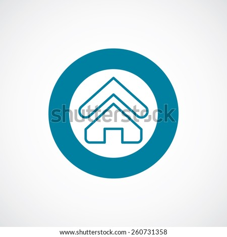 blue dark home icon isolated stock images, royalty-free images