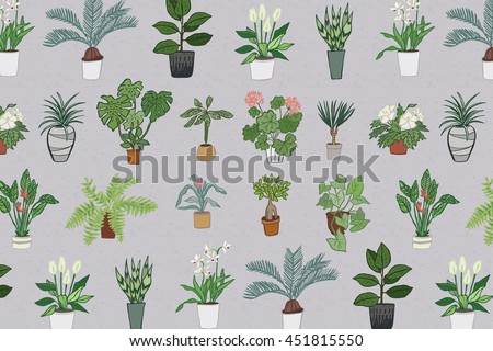 home plants pattern