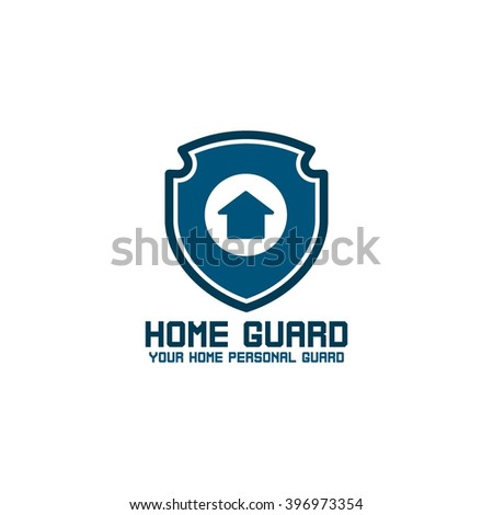 Home Security Logo Design Template Guard Your House Vector