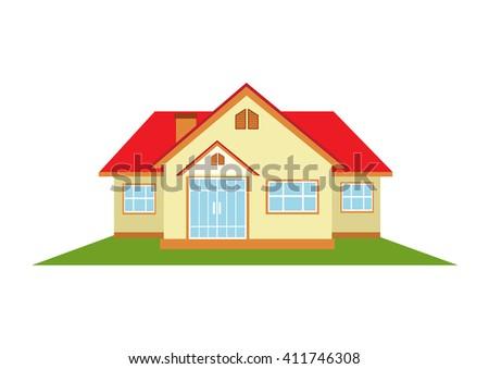 Home.Vector Illustration  - stock vector