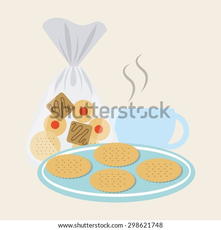 homemade delights design, vector illustration eps10 graphic