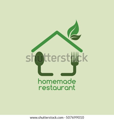 homemade restaurant logo logotype theme template vector illustration