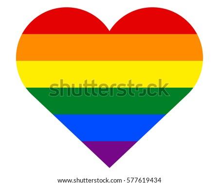 Homosexual love emblem