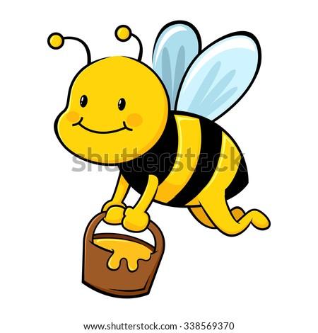 Bee Cartoon Stock Imag...