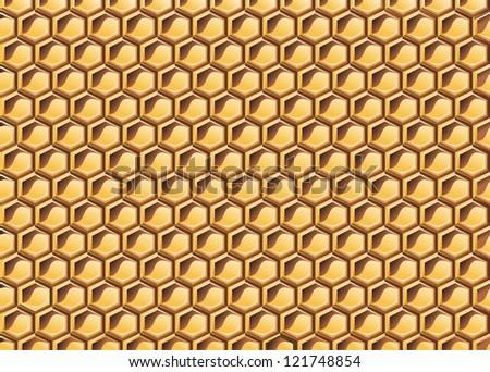 Honeycomb - stock vector