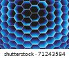 Honeycomb. Vector. - stock photo