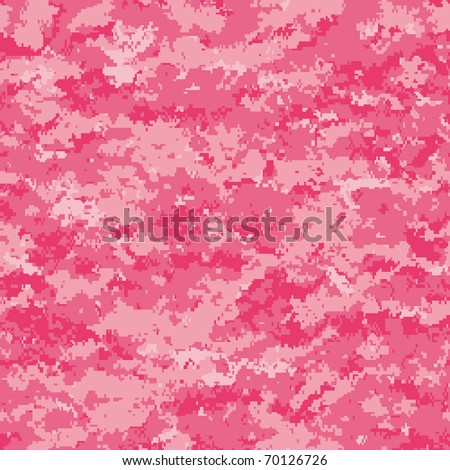 Honeysuckle seamless background (fashion color for 2011) - stock vector